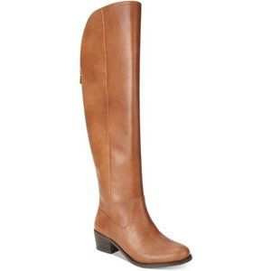 INC over the knee leather boots 6.5 women's shoes